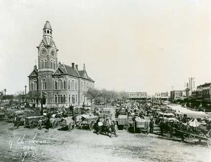 McLennan County court house 1912